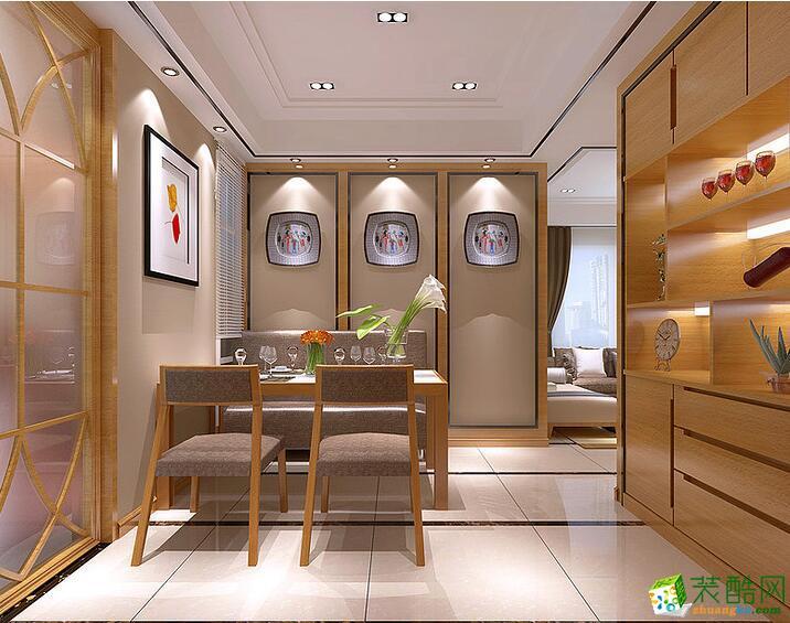 >> 幸福魔方裝飾-181平米中式風格四居室裝修案例圖