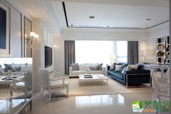欧也装饰-简欧风格132平米三居室装修案例图