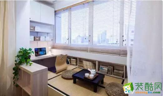 交换空间装饰-106平米三居室装修案例图