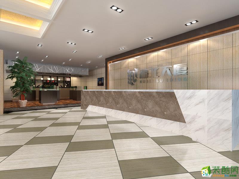 前台  西安高新售楼部装修图