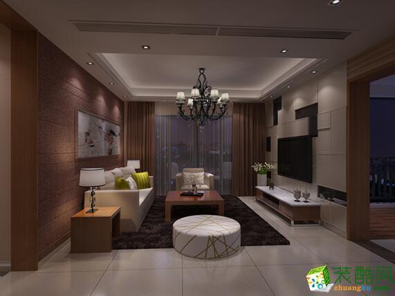 塞纳春天装饰-桂花园118平米三居室装修案例图