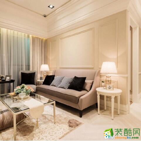 交换空间装饰-84平米三居室现代风格装修案例图