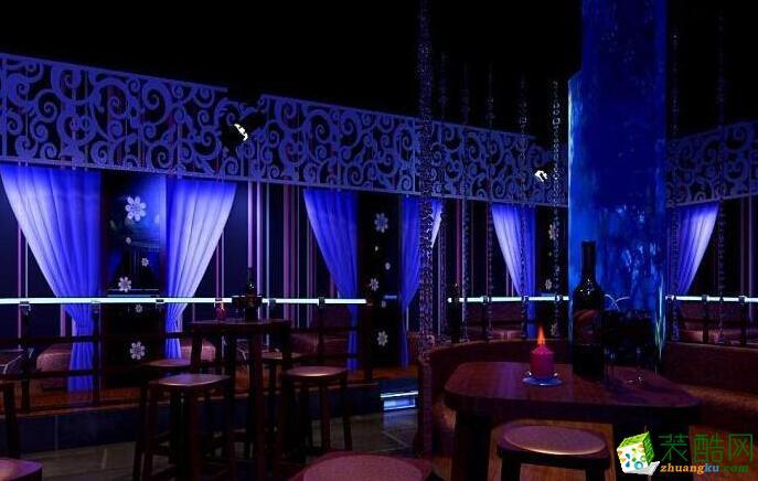 龙尚装饰-130平米酒吧装修案例图