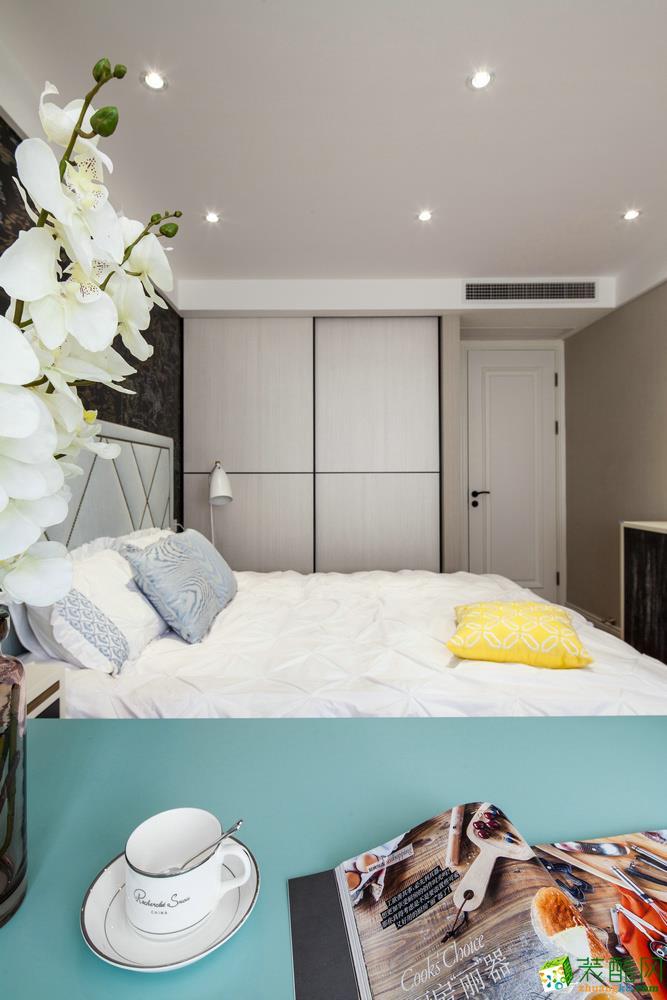 风尚一品装饰―136平米三室两厅清新风_清新风格-三室一厅一卫