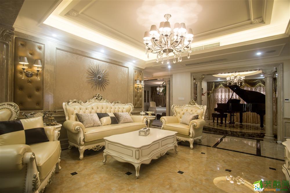 美的家装饰-龙城华府新古典实景图_古典风格-跃层住宅