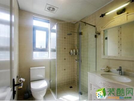 重庆火龙果-89平米田园风格两居室装修案例