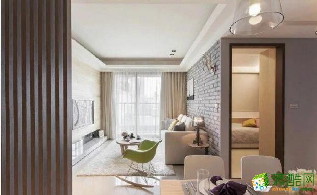 典匠装饰-三居室89平米混搭风格装修案例