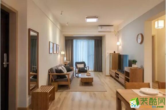 万家和装饰-后现代风格95平米三居室装修案例图