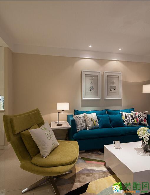 天地和装饰-简约风格92平米两居室装修案例图
