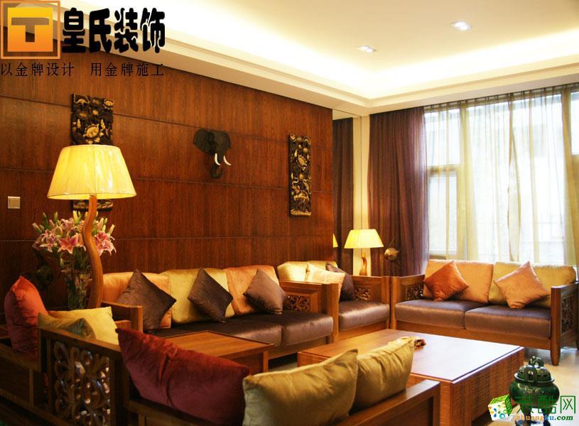 皇氏装饰―云水湾130平米中式风格装修案例