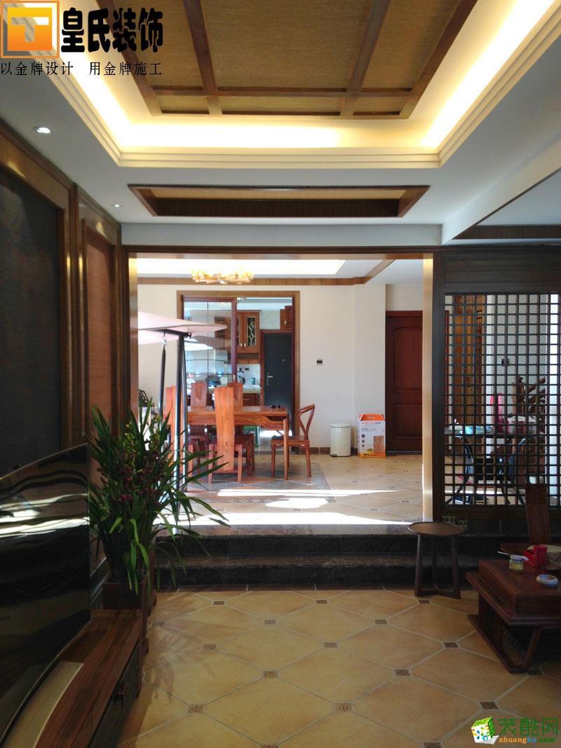 皇氏装饰―山水园230平米新中式风格别墅