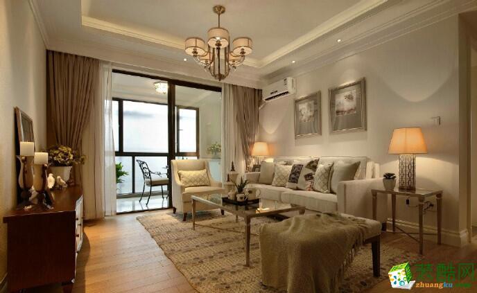 天地和装饰-三居室93平米简美风格装修案例