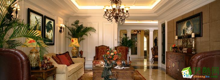 长沙名爵装饰-美式别墅装修效果图