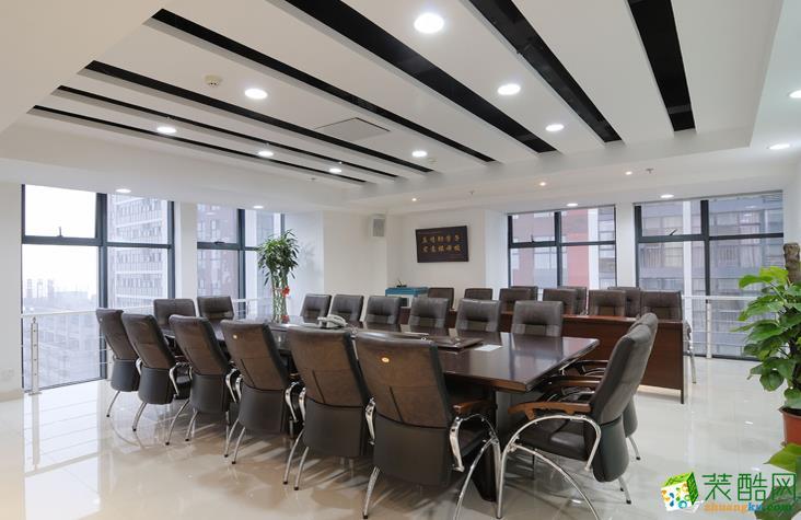 长沙名爵装饰-现代办公室装修效果图