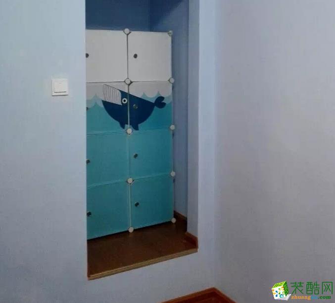 长沙近距离装饰-简约两居室装修效果图