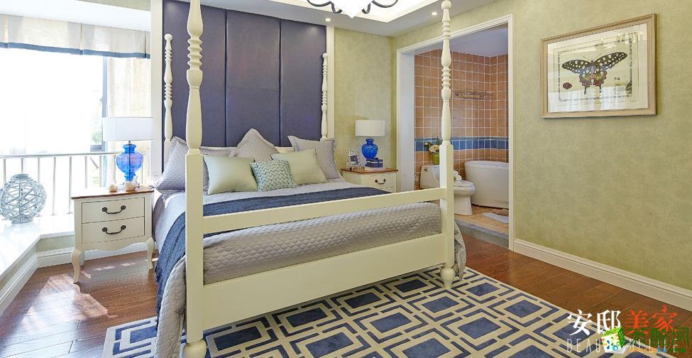 湖南安邸美家装饰-地中海风格两居室装修效果图