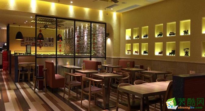 长沙喜乐地装饰-餐厅装修效果图