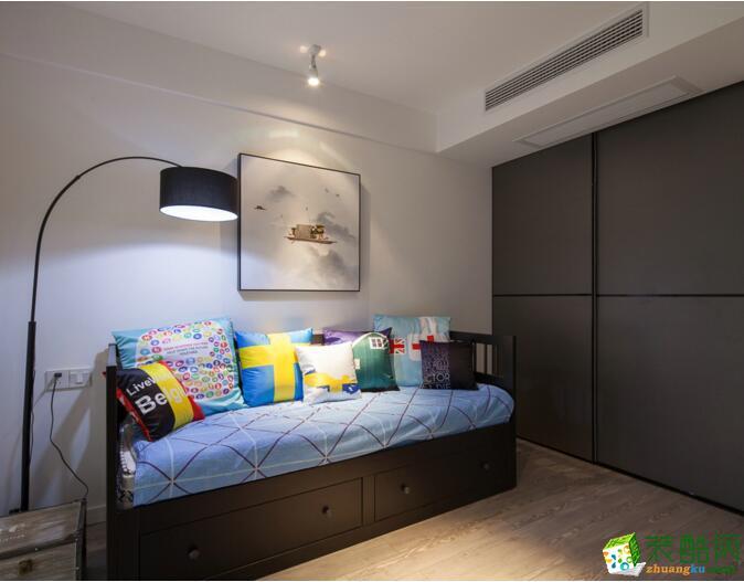 【良美装饰】112平米混搭风格三居室装修案例