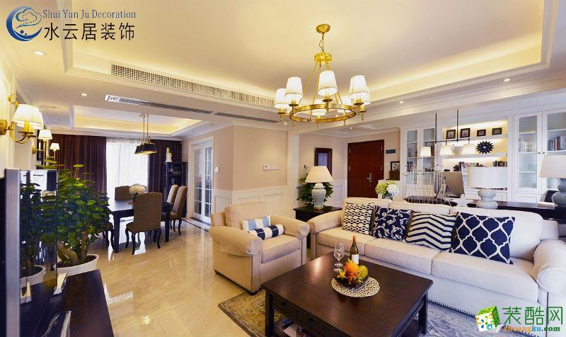 水云居装饰―枫林上城130平3室美式梦想之家