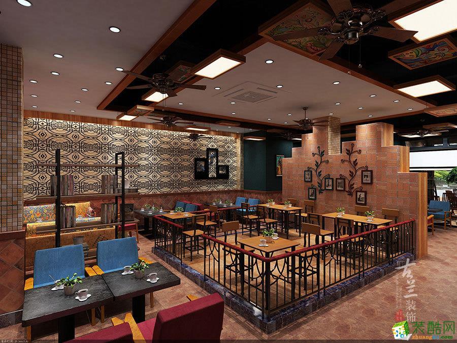 成都休闲咖啡厅店铺装修设计/波西米亚咖啡厅设计古兰章鱼直播间章鱼直播app官网