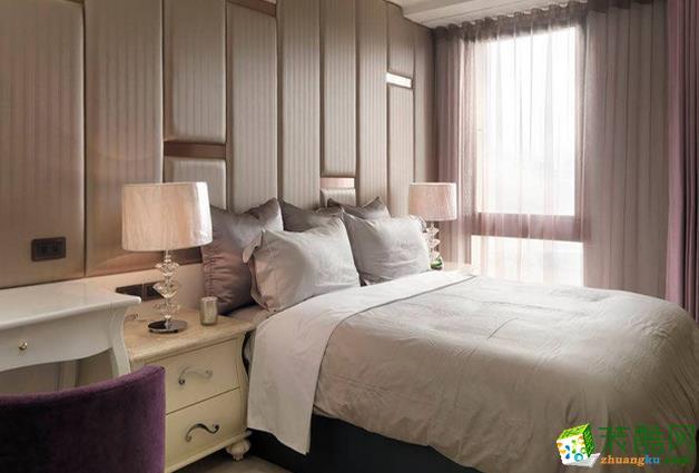长沙极筑装饰-欧式四居室装修效果图