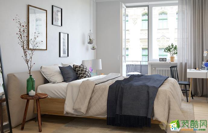 湖南千思装饰-北欧风格两居室装修效果图