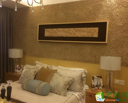 长沙近距离装饰-现代两居室装修效果图
