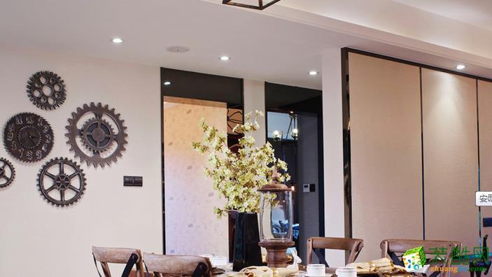 湖南安邸美家装饰-美式两居室装修效果图