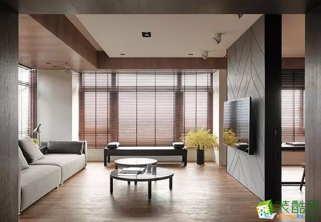 【成都良美装饰】135平米三居室韩式风格装修案例图