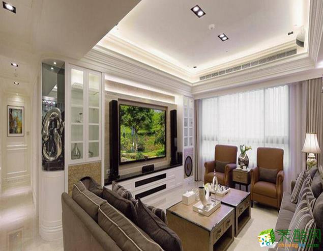 鞍山良工装饰-欧式两居室装修效果图