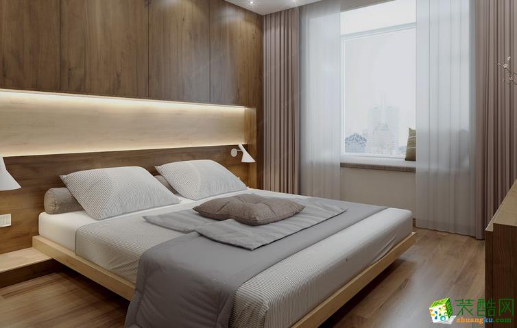 鞍山龙发装饰-现代两居室装修效果图
