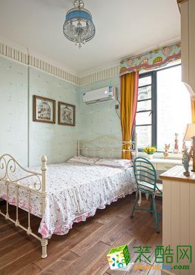 长沙雅筑装饰-现代美式两居室装修效果图