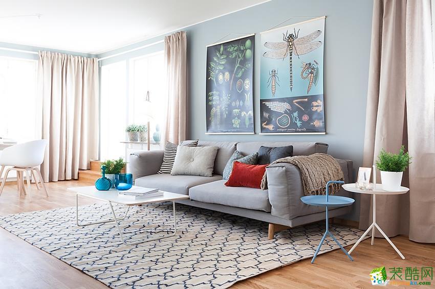 一个动如脱兔 一个静如处子 他们家改造后_现代风格-三室一厅一卫