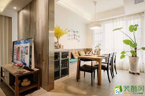 长沙洁宁装饰-香樟公馆欧式风格两居室装修效果图