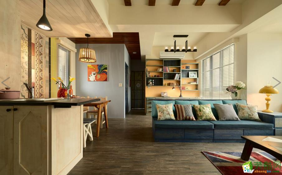 【领巢装饰】美式两室一厅