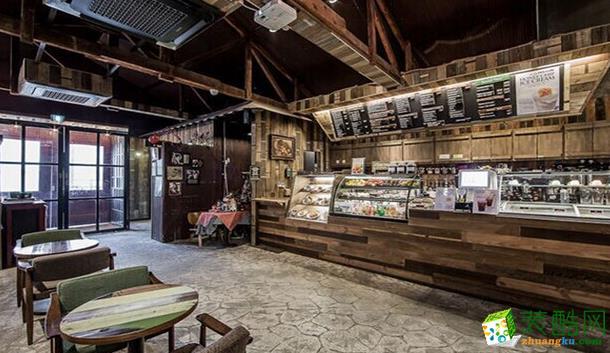 长沙喜乐地装饰-咖啡厅装修效果图