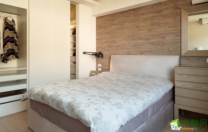 长沙淘家装饰-简约两居室装修效果图