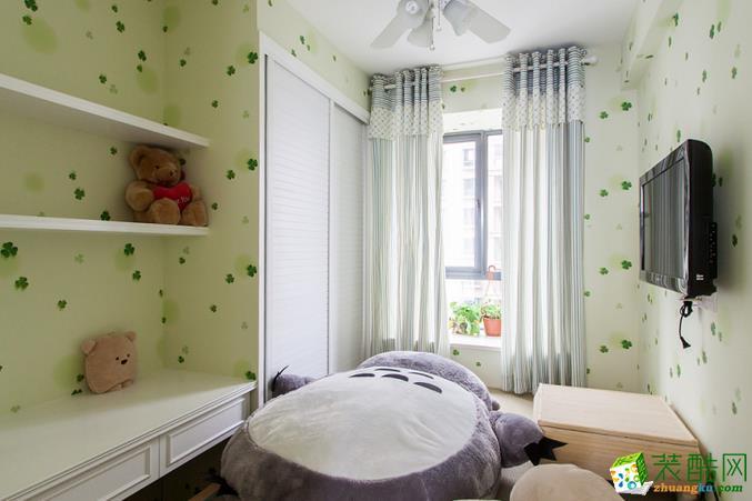 长沙淘家装饰-混搭风格两居室装修效果图