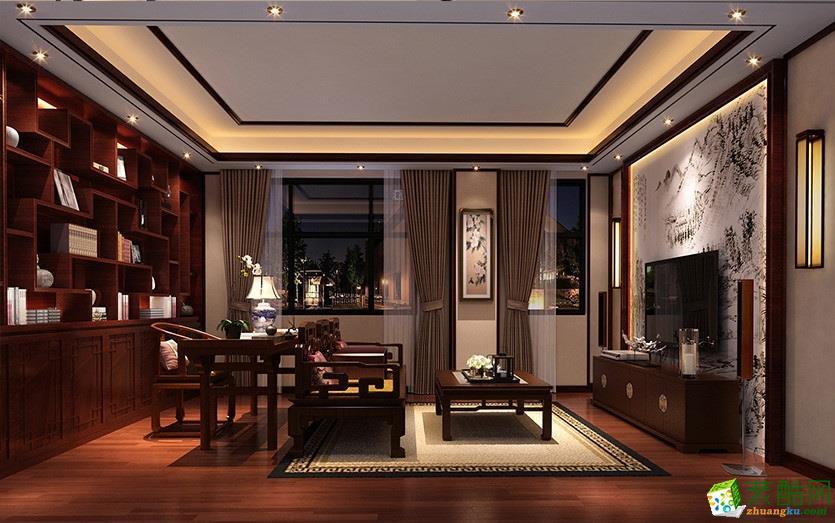 【重庆居之家装饰】黎中甫中式风格装修效果图