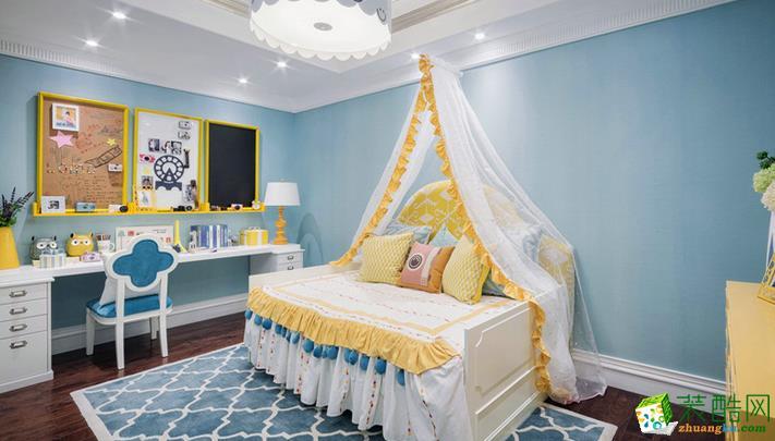 长沙觅糖装饰-混搭三居室装修效果图