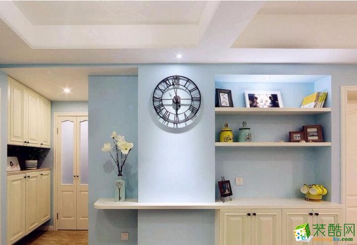 【重庆佳林国际装饰】70平米地中海风格两居室装修案例