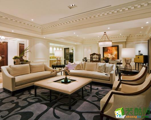长沙家盟科技-现代三居室装修效果图