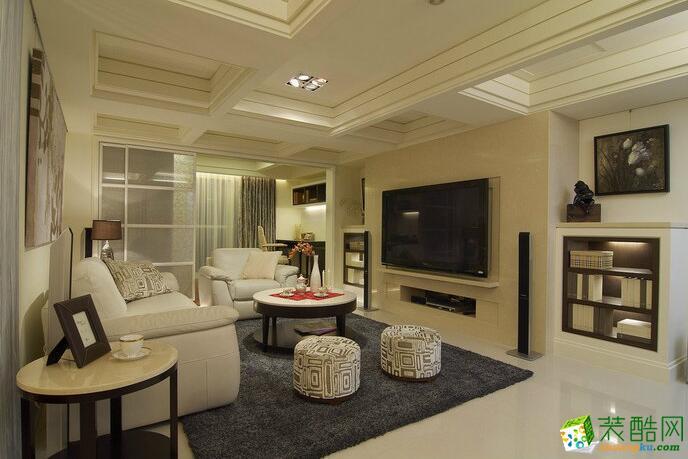 【居之家装饰】135平米新古典四居室装修案例图