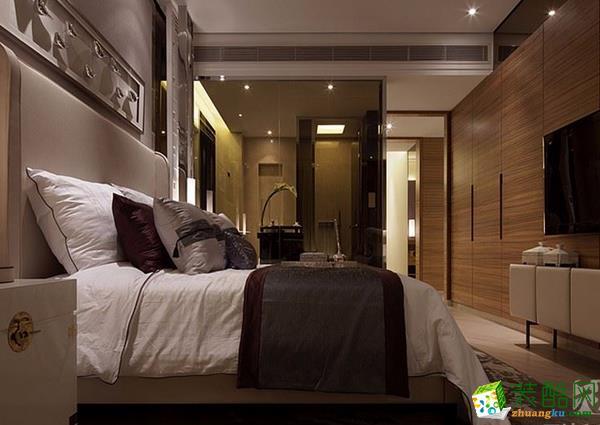 长沙天地和装饰-中式两居室装修效果图