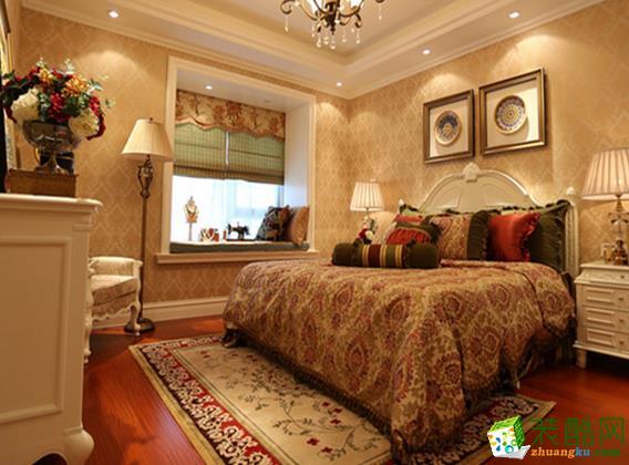 长沙家盟科技-欧式三居室装修效果图