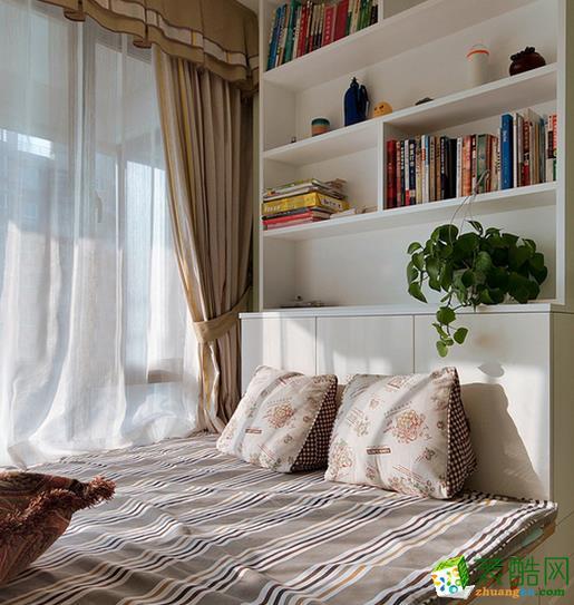 长沙美之翼装饰-现代简约三居室装修效果图