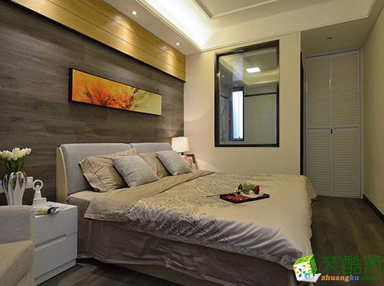长沙美之翼装饰-现代简约两居室装修效果图