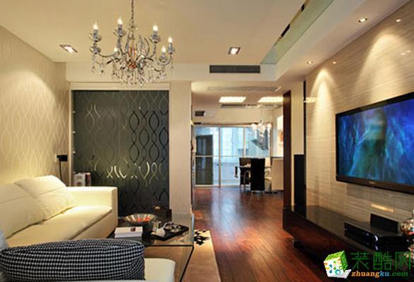 长沙雅筑装饰-新中式两居室装修效果图