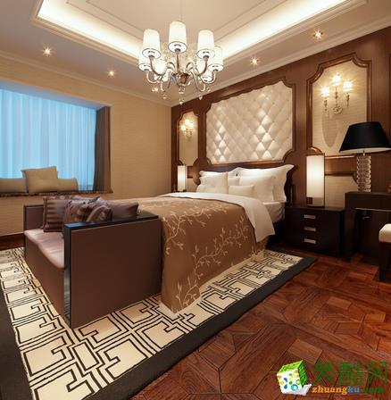 长沙点石家装-混搭三居室装修效果图