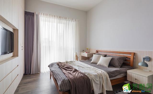长沙点石家装-北欧两居室装修效果图